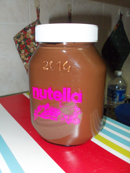 Nutella 2014 front