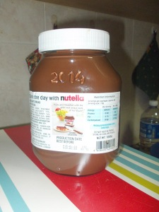 Nutella 2014 back