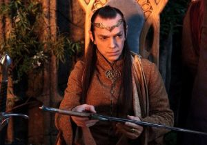 Hugo Weaving as Elrond
