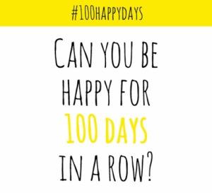 100happydays banner